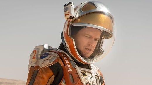 "Matt Damon stars in ""The Martian."""