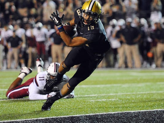 NCAA Football: South Carolina at Vanderbilt