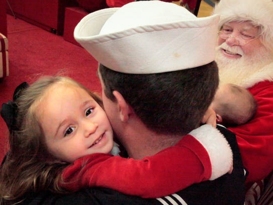 Ava Walters, 3, got her Christmas wish early when her