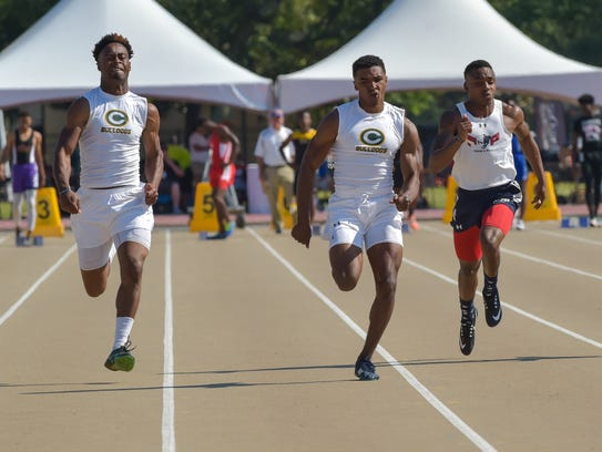 The LHSAA Track and Field State Meet at LSU Bernie