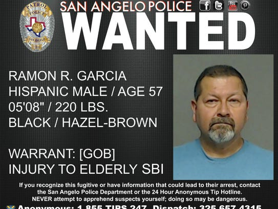 San Angelo police are looking for Ramon and Debra Garcia