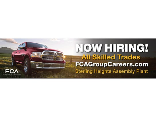Fiat Chrysler Automobiles put up billboards in late
