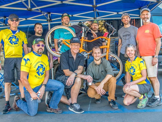 Giant Bicycles and BikeVentura donated bikes to people hurt by the Thomas Fire.