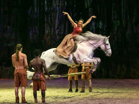From Feb. 21 through March 18 Cavalia: Odysseo is performing in Scottsdale.