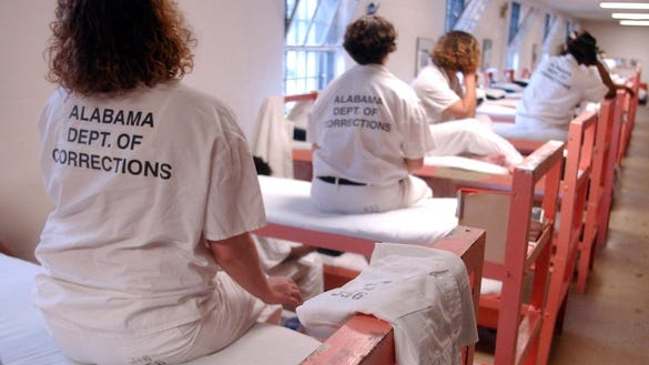 Inmates at the Julia Tutwiler Prison for Women in Wetumpka