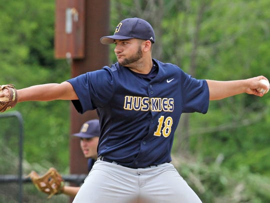Highland High School's Vinny Valentino started Highland's 12-3 loss to Albertus Magnus at Rockland Community College on Friday.