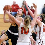 Class C No. 1 Pewamo-Westphalia girls clinch CMAC title with 44-20 win over Laingsburg