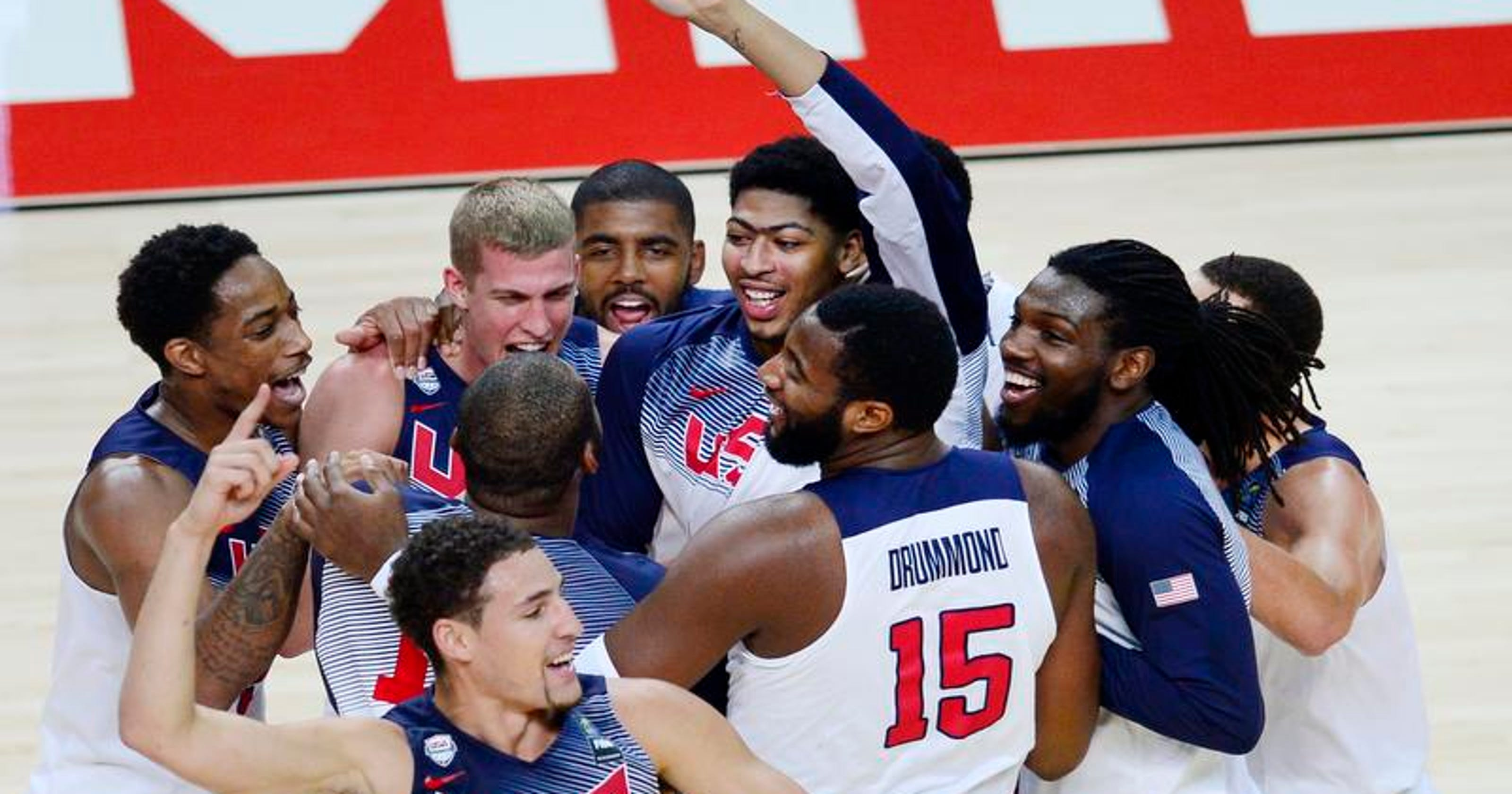 85168abdca09 U.S. wins Basketball World Cup  Andre Drummond scores 6 in final
