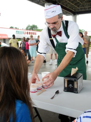 Forget about brain freeze and test your luck this weekend when Lofty Pursuits holds its annual ice cream eating contest for National Ice Cream Day.