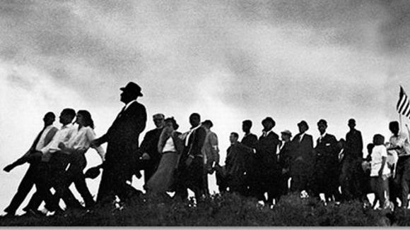 In March 1965, marchers made the 54-mile trek from Selma to Montgomery, Ala., inspiring the fight for voting rights and the Voting Rights Act.