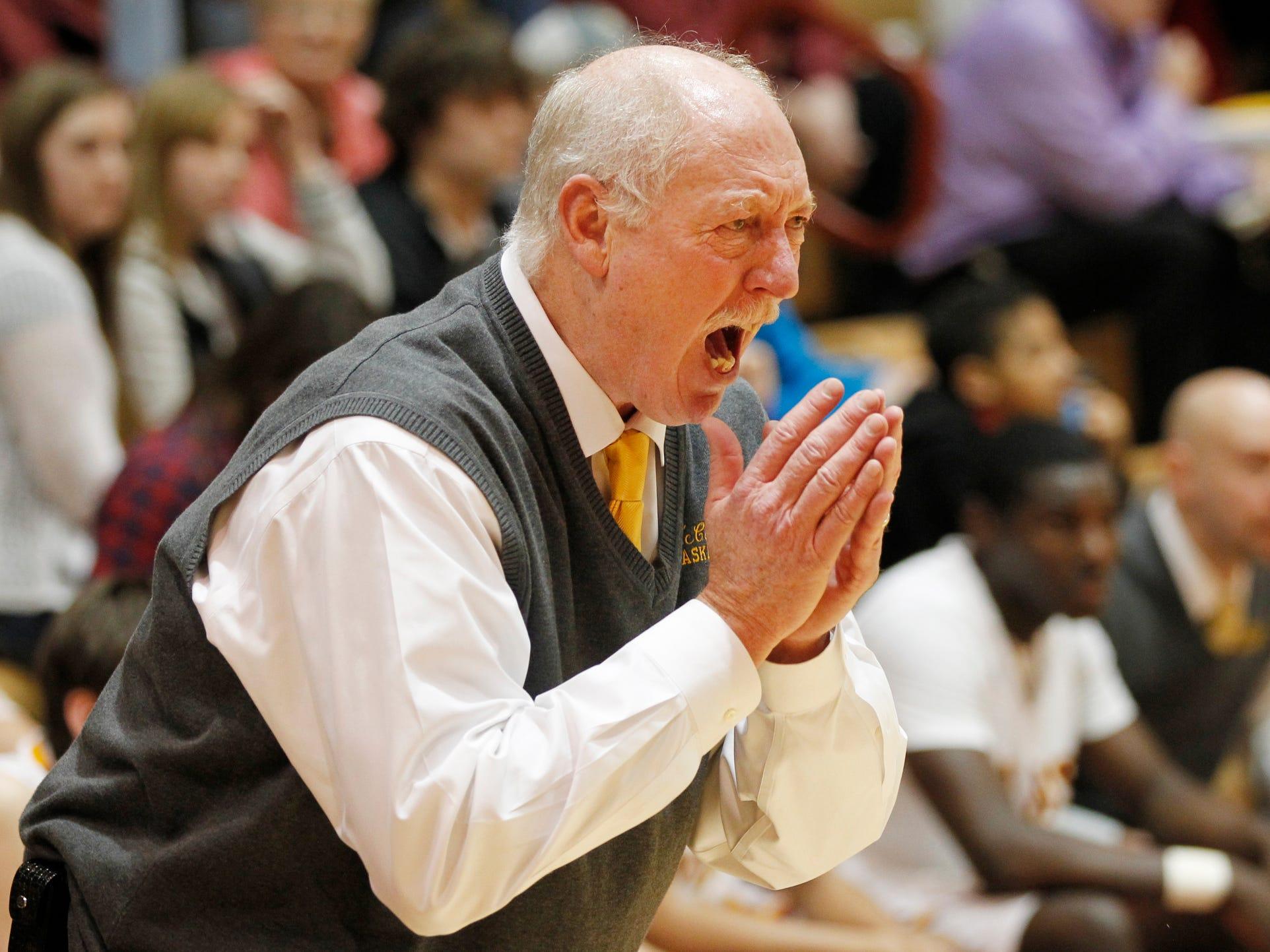 Rick Peckinpaugh coached McCutcheon to a 22-5 record and a sectional championship this season.