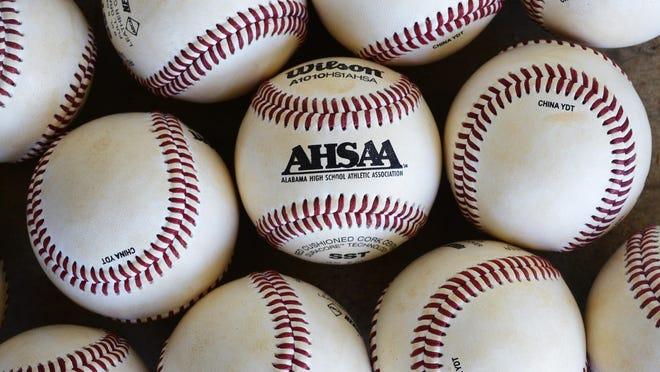 AHSAA baseballs