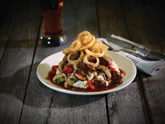 Butcher's Meat and Potatoes is one of the entrees offered free to veterans on Nov. 11 at Applebee's.