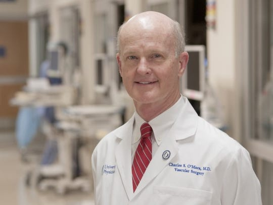 Dr. Charles O'Mara, UMMC professor of surgery and associate