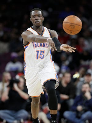 Reggie Jackson is shooting 43.2% from the floor, including 27.8% from the three-point line. He's a career 87.2% free-throw shooter and has a career average of 0.7 steals per game.