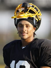 Former Detroit King football player Avonte Maddox on Tuesday Sept. 10, 2013.