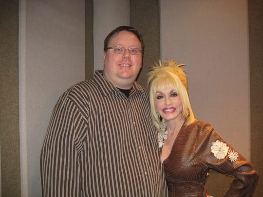 Dolly Parton and Jason Schommer