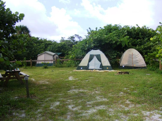 Camping reservations on the Cayo Costa Island State Park are available year-round.