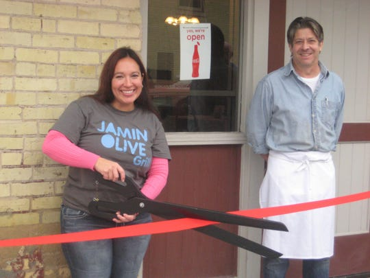 A ribbon cutting was recently held at Jamin Olive Restaurant