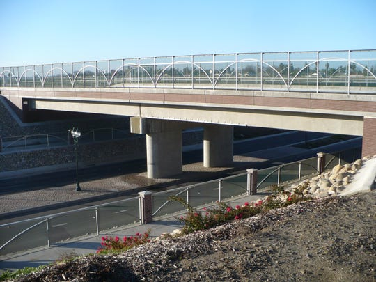 The Bardsley Avenue underpass is still target of vandalism. Tulare council will consider the installation of cameras as a deterrent for vandalism.