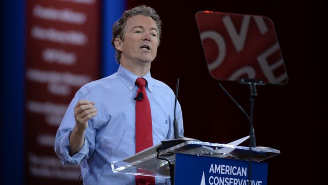 Sen. Rand Paul, R-Ky., speaks at the 2015 Conservative Political Action Conference on Feb. 27.