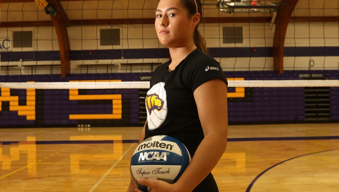Bri Piepenbrok, a Merrill graduate, has carved out a productive college volleyball career as a defensive specialist and libero for nationally ranked UW-Stevens Point .