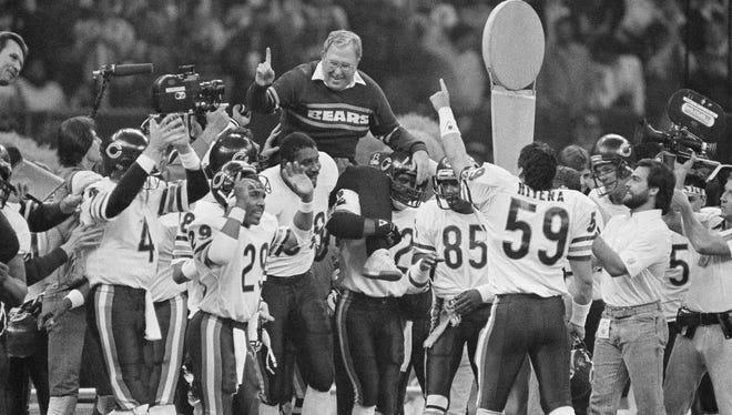 Buddy Ryan and the Bears.