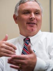 Prattville High School principal Brock Dunn.