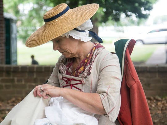 Colonial York Day Saturday, July 30, 2016. Amanda J.