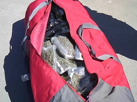 Irene Dixon was allegedly found with nearly 90 pounds of marijuana at a traffic stop in Nebraska.