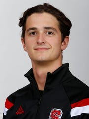 North Carolina State swimmer Coleman Stewart (York Suburban)