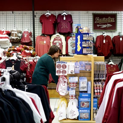 The Garnet & Gold store at the Governor's Square Mall
