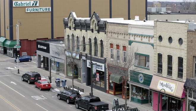 Downtown Appleton has lots of one-of-a-kind shops and independent businesses.