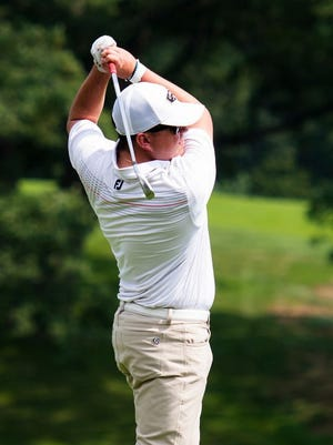 Patrick Beahn scored his career-best 65 to set a course record at Green Hill.