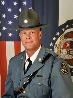 Captain Jerry C. West, director of the Training Division, General Headquarters, Jefferson City.