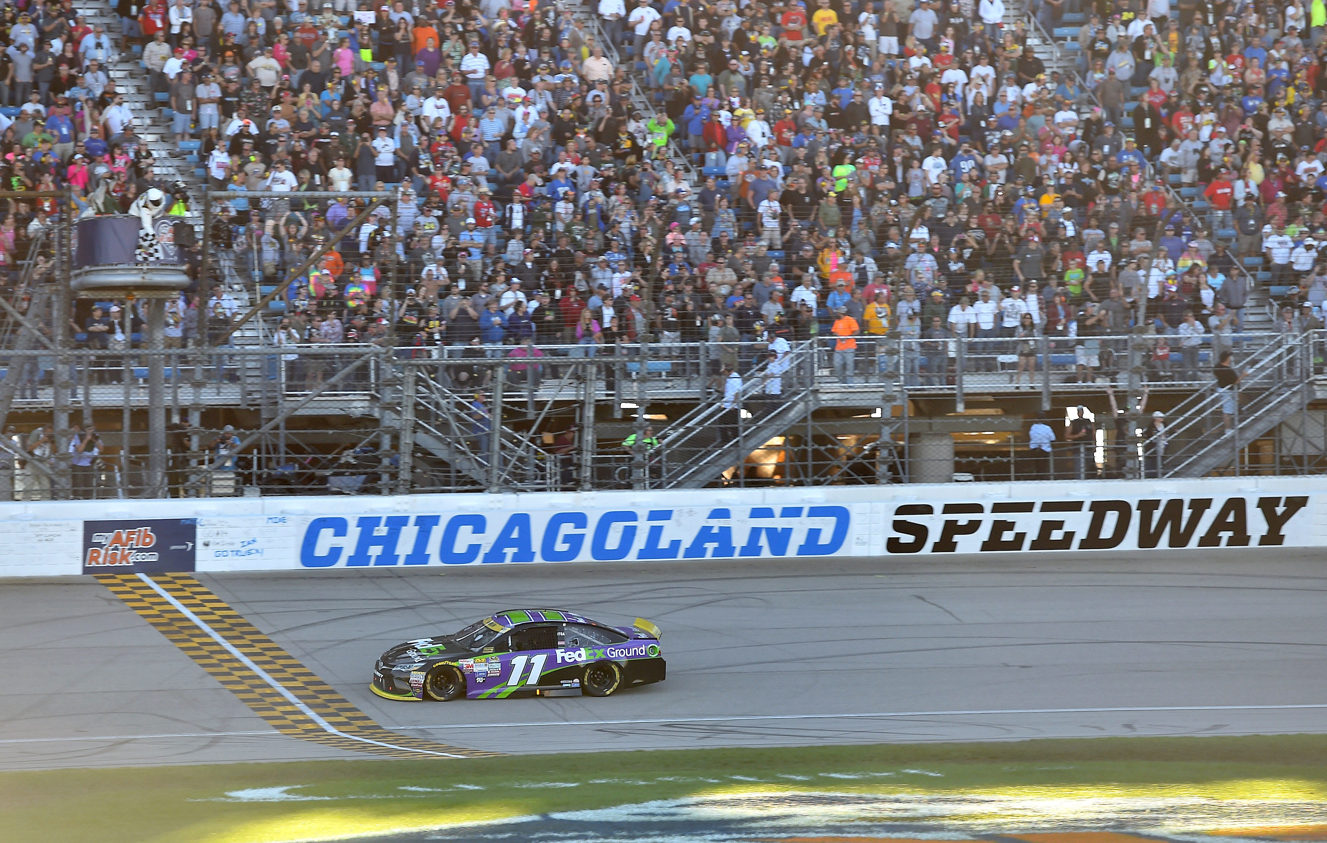 nascar at chicagoland start time lineup tv for first race of chase rh usatoday com