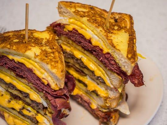 The Chuck Norris breakfast sandwich at Handy's Lunch