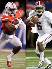 The winner of Ohio State-Alabama plays Jan. 12 for