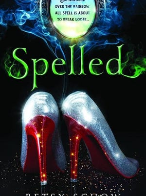 """""""Spelled"""" by Betsy Schow, c. 2015, Sourcebooks, $9.99 US / $12.99 Canada, 352 pages."""