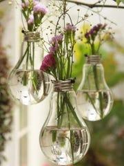 Light Bulb Hanging Decor