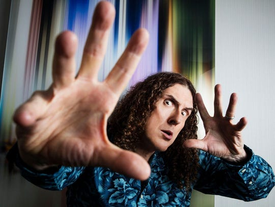 """Weird Al"" Yankovic brought ""The Ridiculously Self-Indulgent, Ill-Advised Vanity Tour"" to State Theatre of Ithaca on March 14."