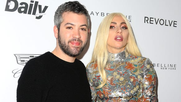 Brandon Maxwell and Lady Gaga struck a pose on the