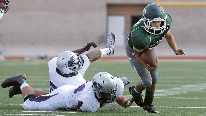 Franklin defeated Montwood 35-9 Friday night at the SAC.