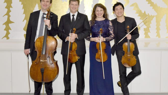 The Ehnes Quartet gave an all-Beethoven concert Wednesday at the Norton Museum of Art.