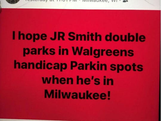 Officer Erik Andrade  wrote a post about J.R. Smith