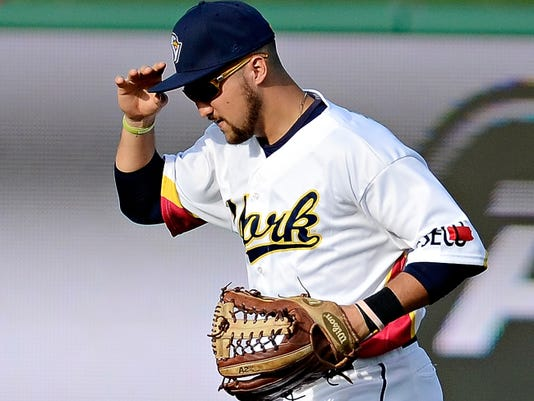 York's Nick Ferdinand had two hits, including a homer, and three RBIs on Wednesday in the Revolution's 8-7 win vs. Sugar Land.