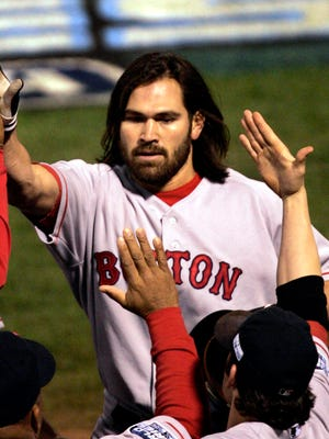 Johnny Damon was one of the faces of the 2004 Boston Red Sox team that broke an 86-year championship drought.
