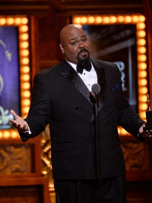 James Monroe Iglehart during the 68th annual Tony Awards from Radio City Music Hall in 2014.