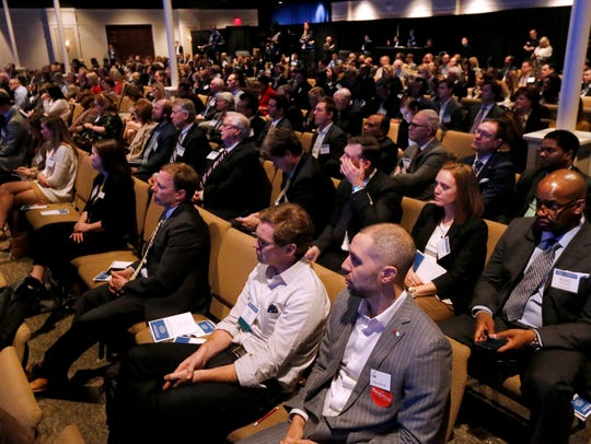 Around 400 people attended the Gubernatorial Candidates'