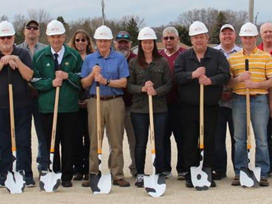 Manitowoc County dairy barn groundbreaking May 2.